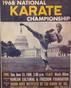 1968 National Karate Championship Program